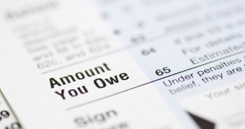 Owing taxes to the Canada Revenue Agency