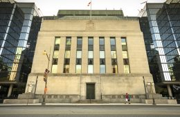 Bank of Canada financial building