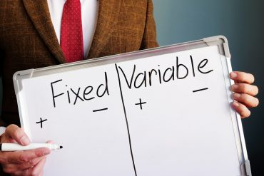 fixed or variable rate mortgage?